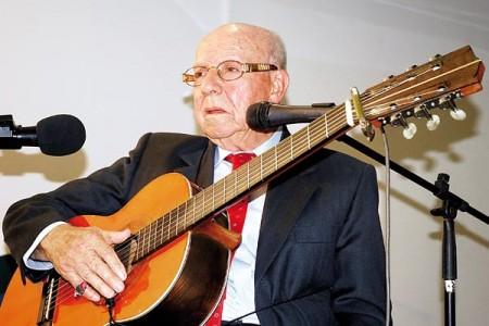 En la imagen, José Ramírez, compositor quindiano fallecido en diciembre de 2012. Foto de La Crónica del Quindío.