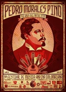 poster 50 x 70 Festimorales Pino aprobado