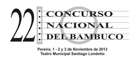 LOGO CONCURSO NAL. DEL BAMBUCO 2013