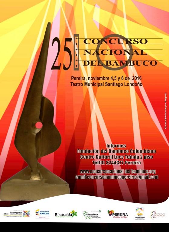 afiche bambuco 2016 - copia