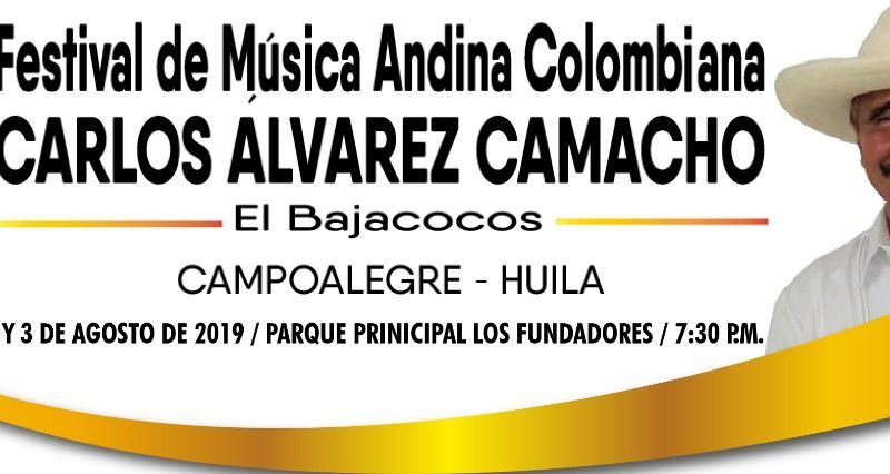 FESTIVAL DE MÚSICA ANDINA COLOMBIANA «CARLOS ALVAREZ CAMACHO»