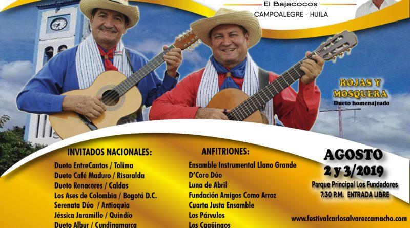 VII Festival de Música Andina Colombiana «Carlos Álvarez Camacho»