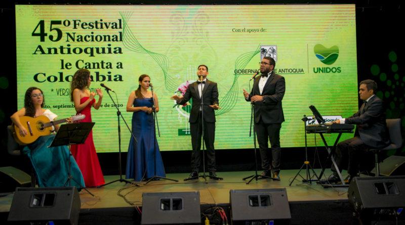 Concurso de diseño del nuevo logotipo del Festival Nacional En Antioquia Canta Colombia