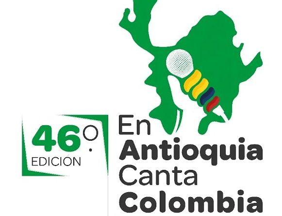 CLASIFICADOS AL 46 FESTIVAL NACIONAL EN ANTIOQUIA CANTA COLOMBIA